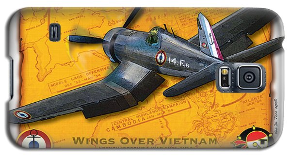 Corsair  Over Indochina Galaxy S5 Case