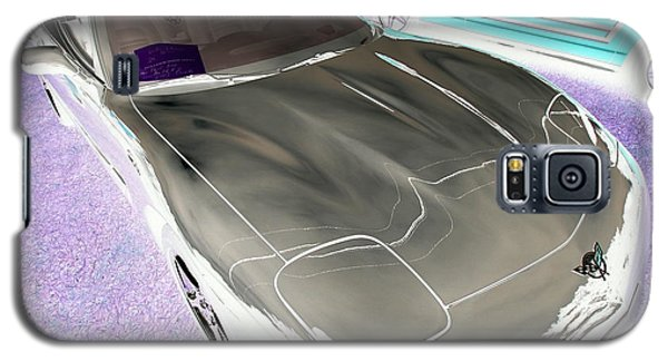 Galaxy S5 Case featuring the photograph Corvette 2003 50th Anniv. Edition by John Schneider