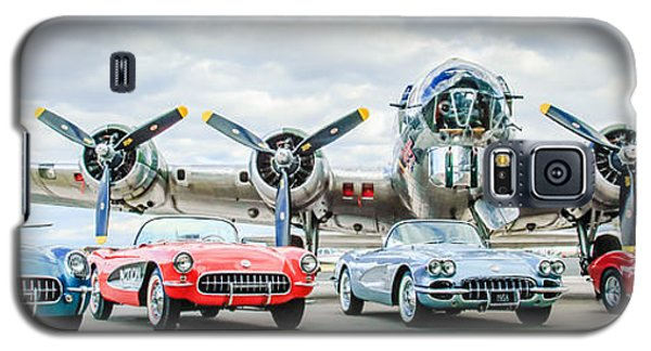 Corvettes With B17 Bomber Galaxy S5 Case