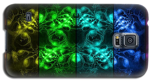 Cosmic Alien Eyes Pride Galaxy S5 Case by Shawn Dall