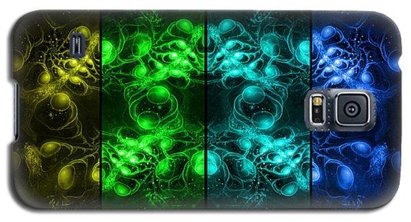 Cosmic Alien Eyes Pride Galaxy S5 Case