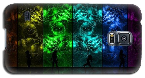 Cosmic Alien Vixens Pride Galaxy S5 Case