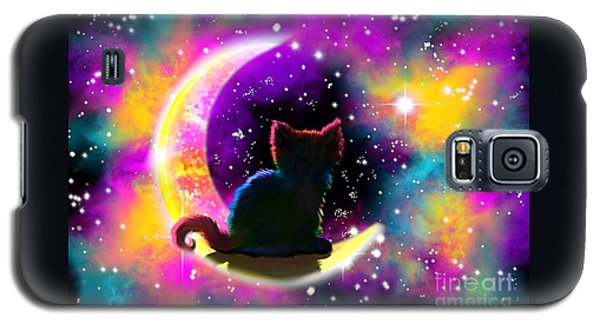 Cosmic Cat Galaxy S5 Case