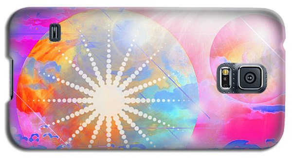 Galaxy S5 Case featuring the digital art Cosmic Delight by Ute Posegga-Rudel