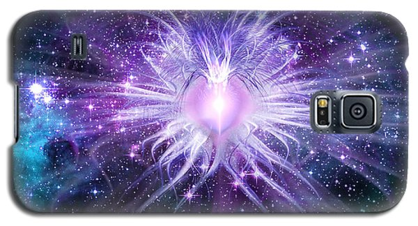 Cosmic Heart Of The Universe Galaxy S5 Case