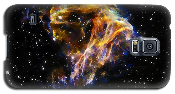 Cosmic Heart Galaxy S5 Case