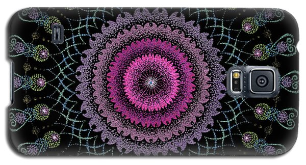 Galaxy S5 Case featuring the painting Cosmic Hug by Keiko Katsuta