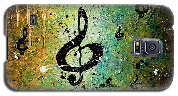 Trombone Galaxy S5 Case - Cosmic Jam by Carmen Guedez
