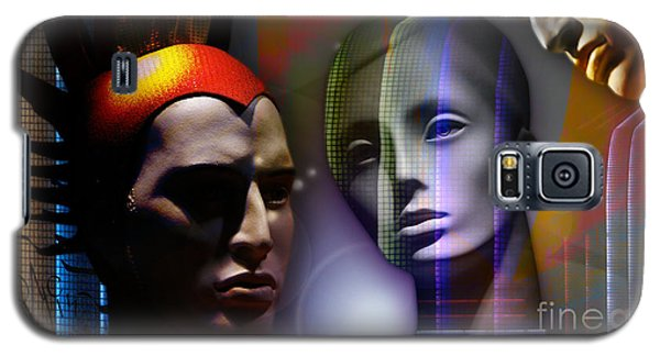 Cosmic Mannequins Triad Galaxy S5 Case by Rosa Cobos