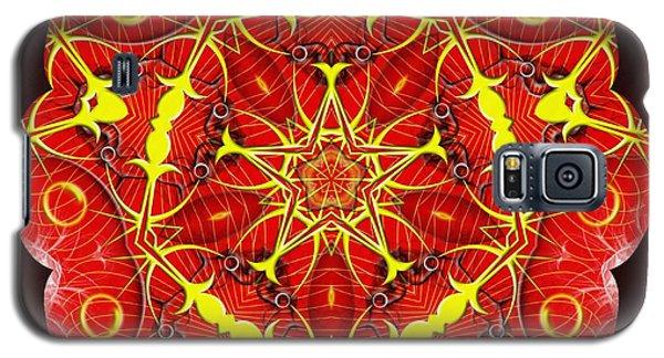 Cosmic Masculine Firestar Galaxy S5 Case