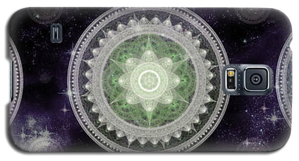 Cosmic Medallians Rgb 2 Galaxy S5 Case by Shawn Dall