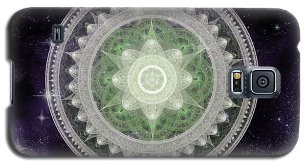 Cosmic Medallions Earth Galaxy S5 Case