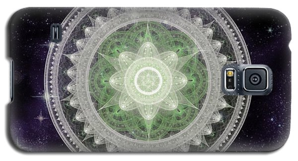 Cosmic Medallions Earth Galaxy S5 Case
