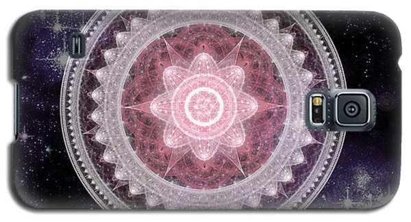 Cosmic Medallions Fire Galaxy S5 Case
