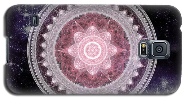 Cosmic Medallions Fire Galaxy S5 Case