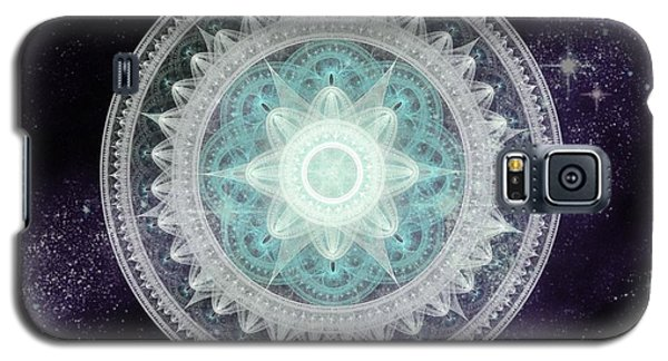 Cosmic Medallions Water Galaxy S5 Case by Shawn Dall