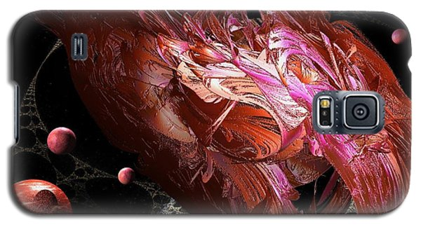 Cosmic Planets Galaxy S5 Case by Jacqueline Lloyd