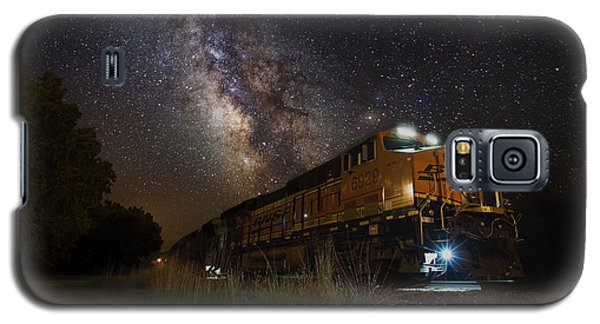 Cosmic Railroad Galaxy S5 Case