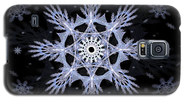 Cosmic Snowflakes Galaxy S5 Case