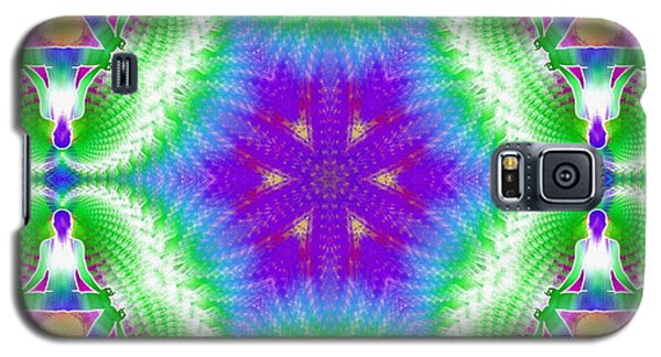 Cosmic Spiral Kaleidoscope 10 Galaxy S5 Case