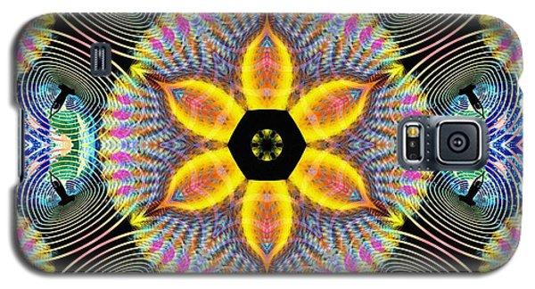 Cosmic Spiral Kaleidoscope 13 Galaxy S5 Case