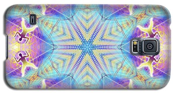 Cosmic Spiral Kaleidoscope 17 Galaxy S5 Case