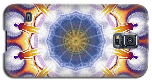 Cosmic Spiral Kaleidoscope 34 Galaxy S5 Case