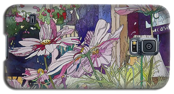 Cosmos At The Coffee Shoppe Galaxy S5 Case
