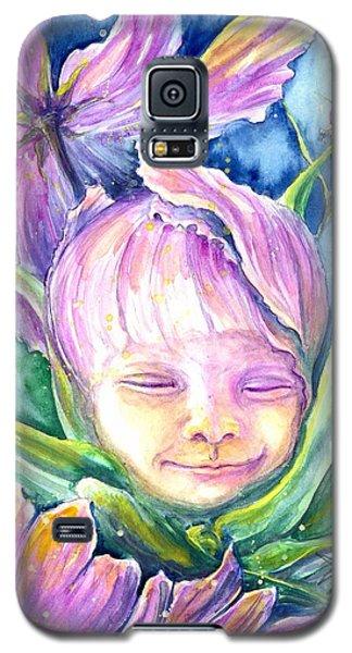 Cosmos Bud Galaxy S5 Case by Ashley Kujan