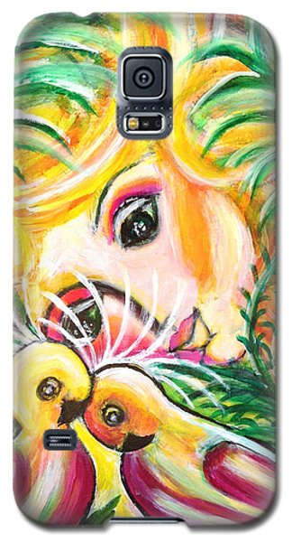 Galaxy S5 Case featuring the painting Costa Rica by Anya Heller