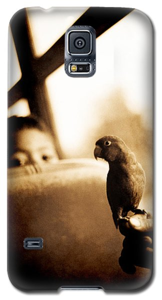 Costa Rican Bird Boy Galaxy S5 Case
