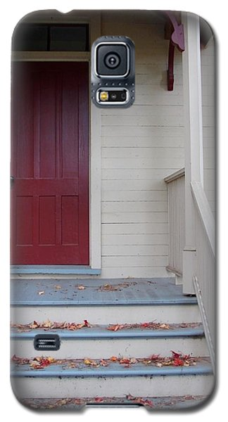 Cozy Cottage Door Galaxy S5 Case