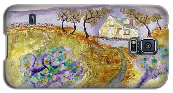 Cottage By The Purple Trees Galaxy S5 Case