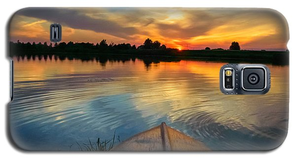 Cottage Country's Silhouette Galaxy S5 Case
