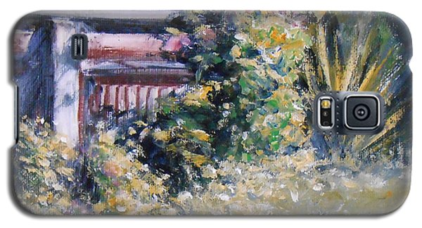 Cottage Garden Galaxy S5 Case by Jane  See