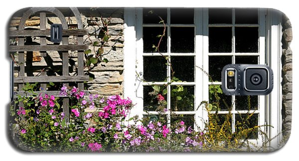 Cottage Garden Window Galaxy S5 Case by Living Color Photography Lorraine Lynch