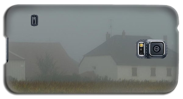 Cottage In Mist Galaxy S5 Case