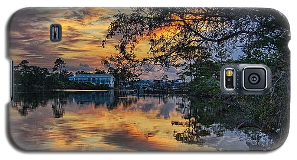 Cotton Bayou Sunrise Galaxy S5 Case by Michael Thomas