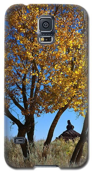 Cottonwood And Nipple Butte-v Galaxy S5 Case
