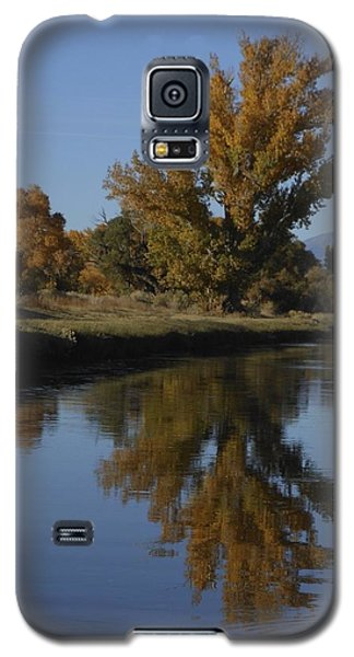 Cottonwood Trees And Reflections Galaxy S5 Case