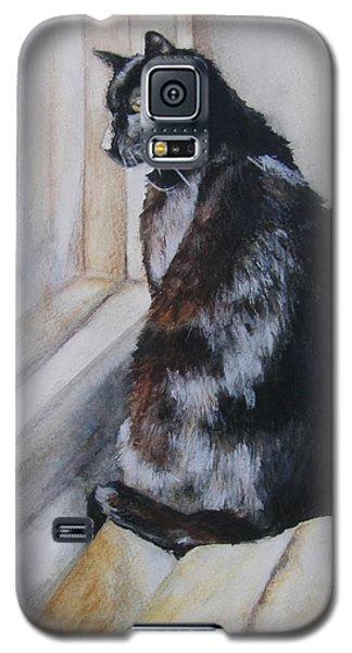Couch Potato Galaxy S5 Case by Lori Brackett