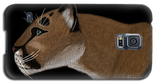 Cougar Portrait Galaxy S5 Case