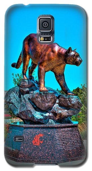 Cougar Pride Sculpture - Washington State University Galaxy S5 Case