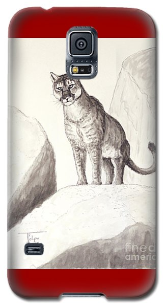 Cougar's Gaze Galaxy S5 Case