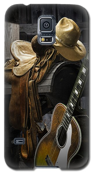 Country And Western Music Galaxy S5 Case