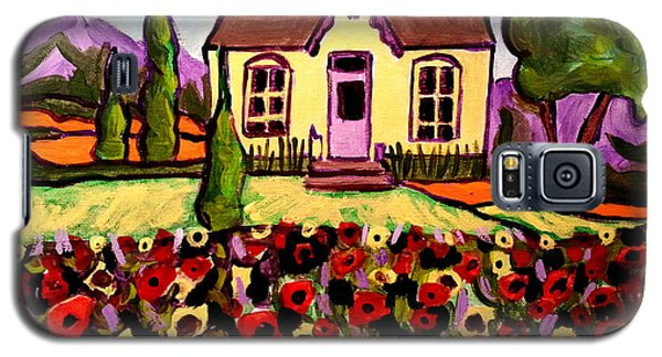 Country Cottage 2 Galaxy S5 Case
