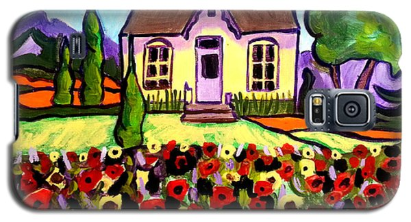 Country Cottage 3 Galaxy S5 Case