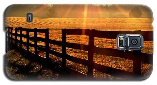 Galaxy S5 Case featuring the photograph Country Fence by Carlee Ojeda