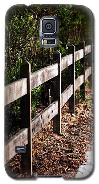 Country Fence Color Galaxy S5 Case