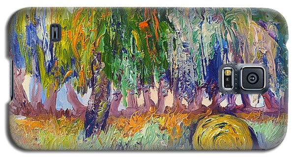 Country Painting By Ekaterina Chernova Galaxy S5 Case